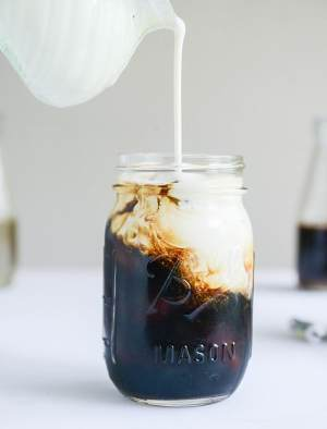 Serve cold brew coffee