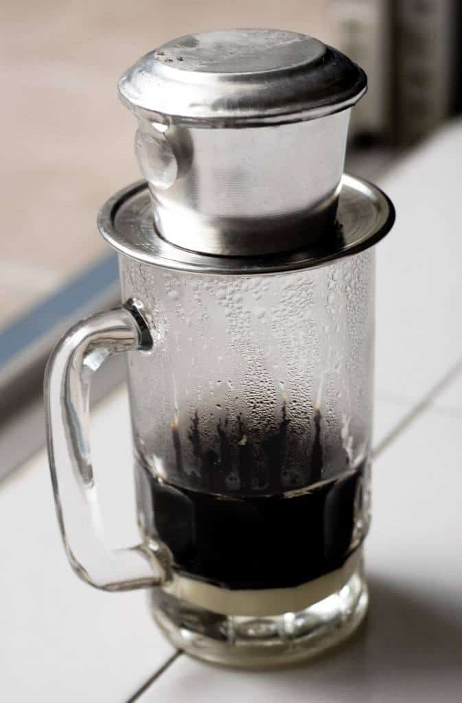 Vietnamese coffee press