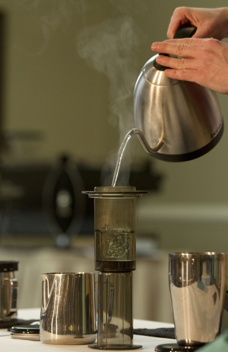 AeroPress coffee recipe