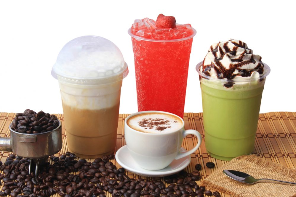 caffeinated drinks