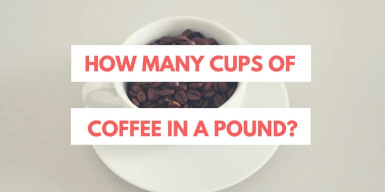 How Many Cups of Coffee in a Pound