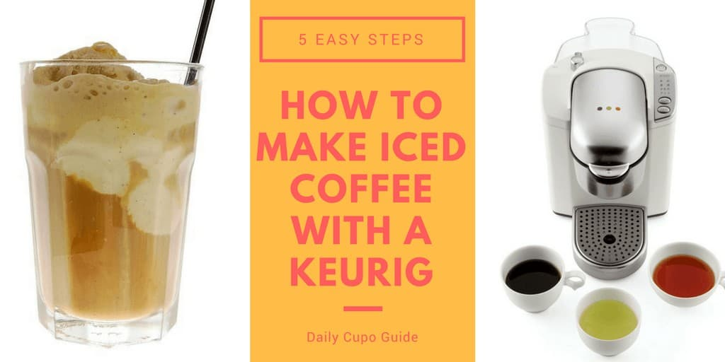 How to Make Iced Coffee With a Keurig