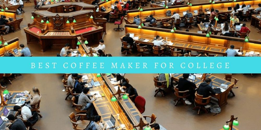 5 Best Coffee Makers for College Dorm (Budget & Portable)