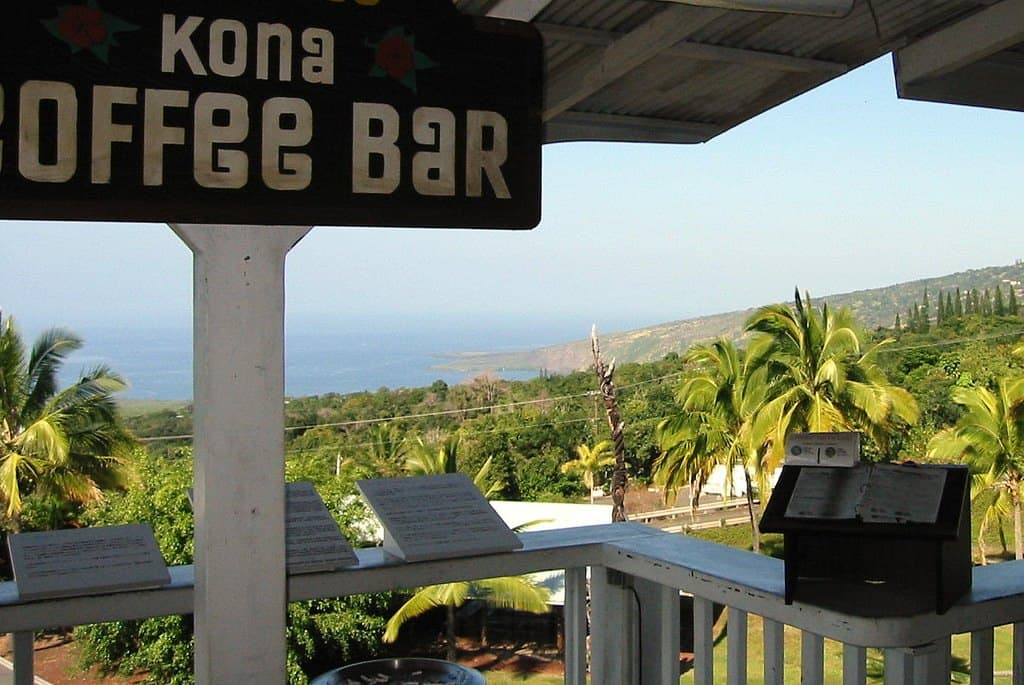 kona coffee bar