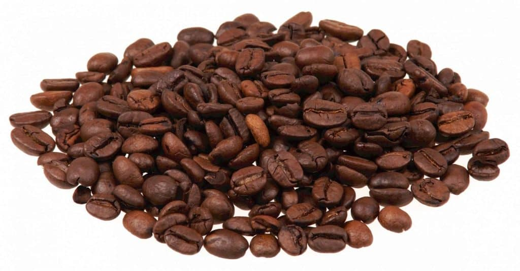 Peaberry Kona Coffee beans